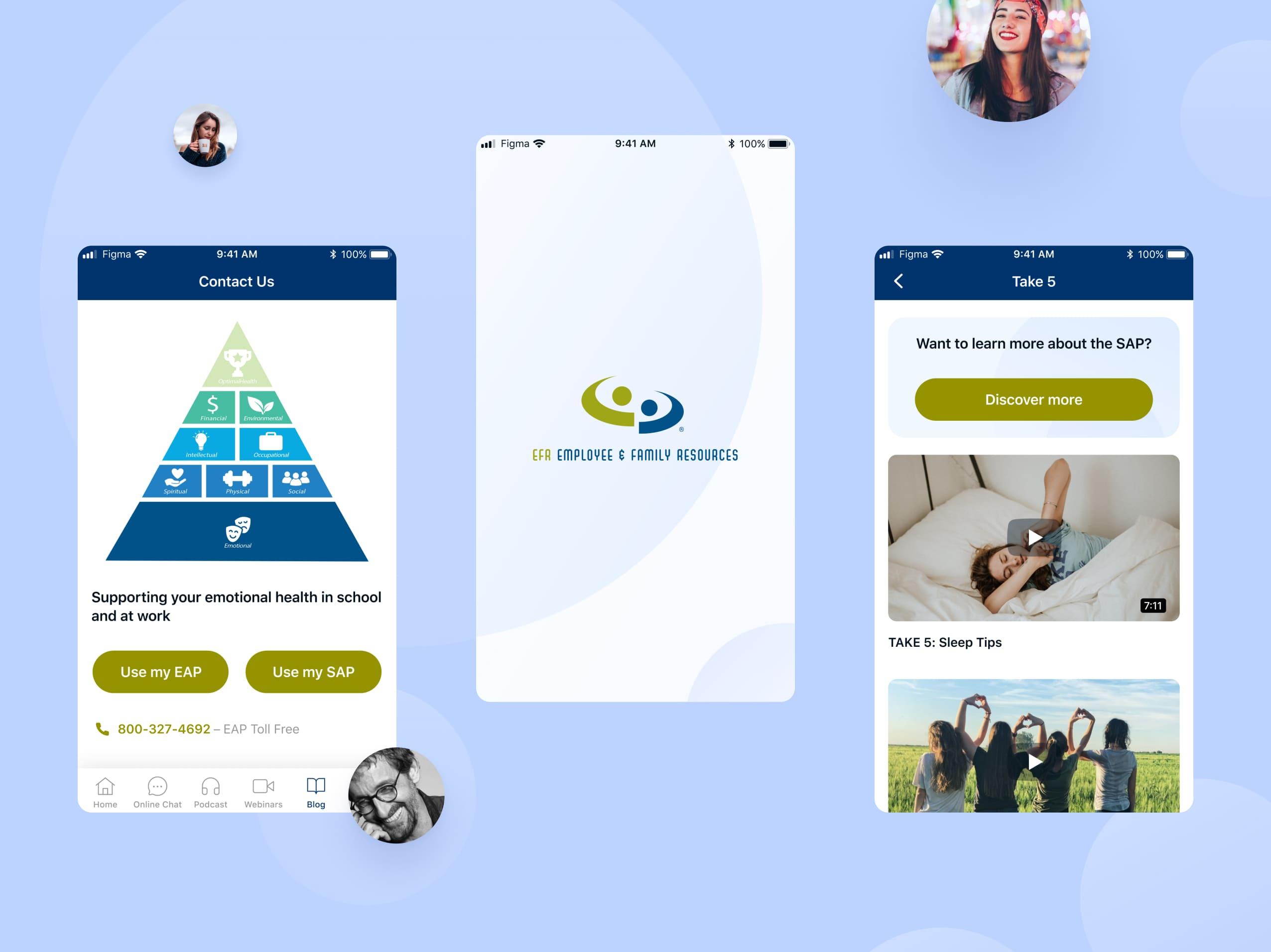 Разработка мобильного приложения для EFR